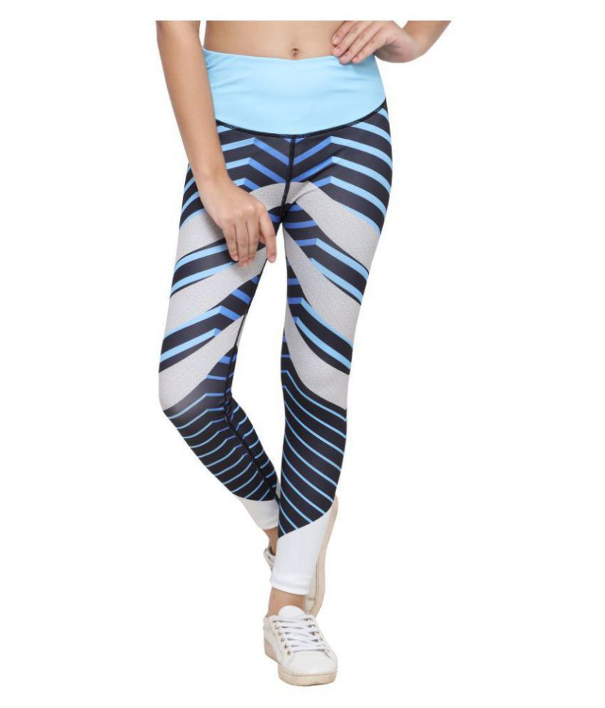 She Knows It Polyester Tights - Multi
