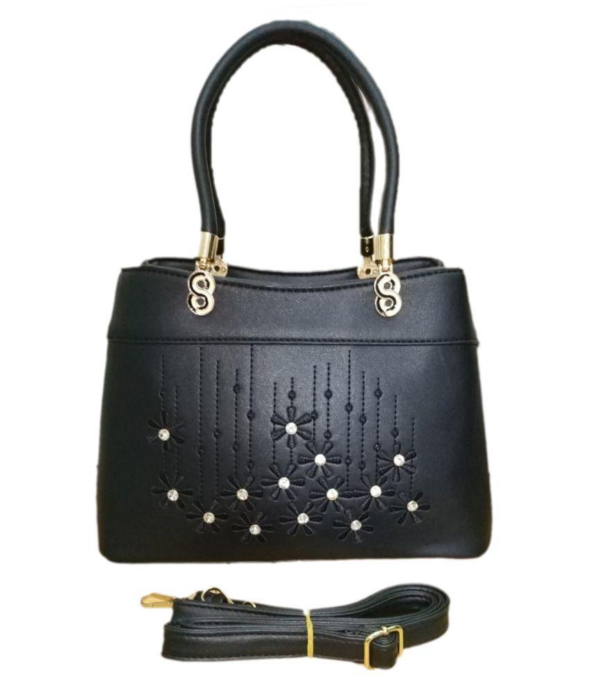 women fashion bags Black P.U. Handheld