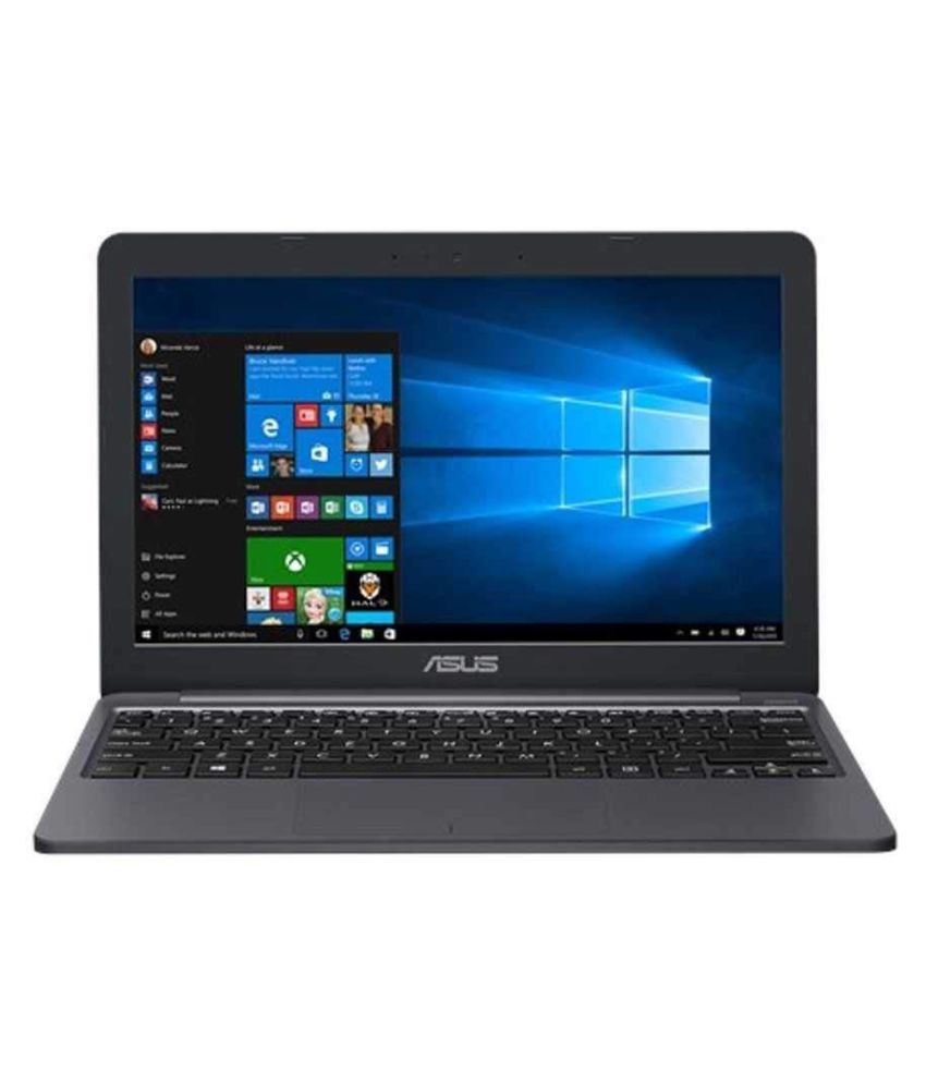 Asus E Series E203MAH FD005T Notebook Intel Celeron 4  GB 29.46cm 11.6  Windows 10 Home without MS Office Integrated Graphics Star Grey