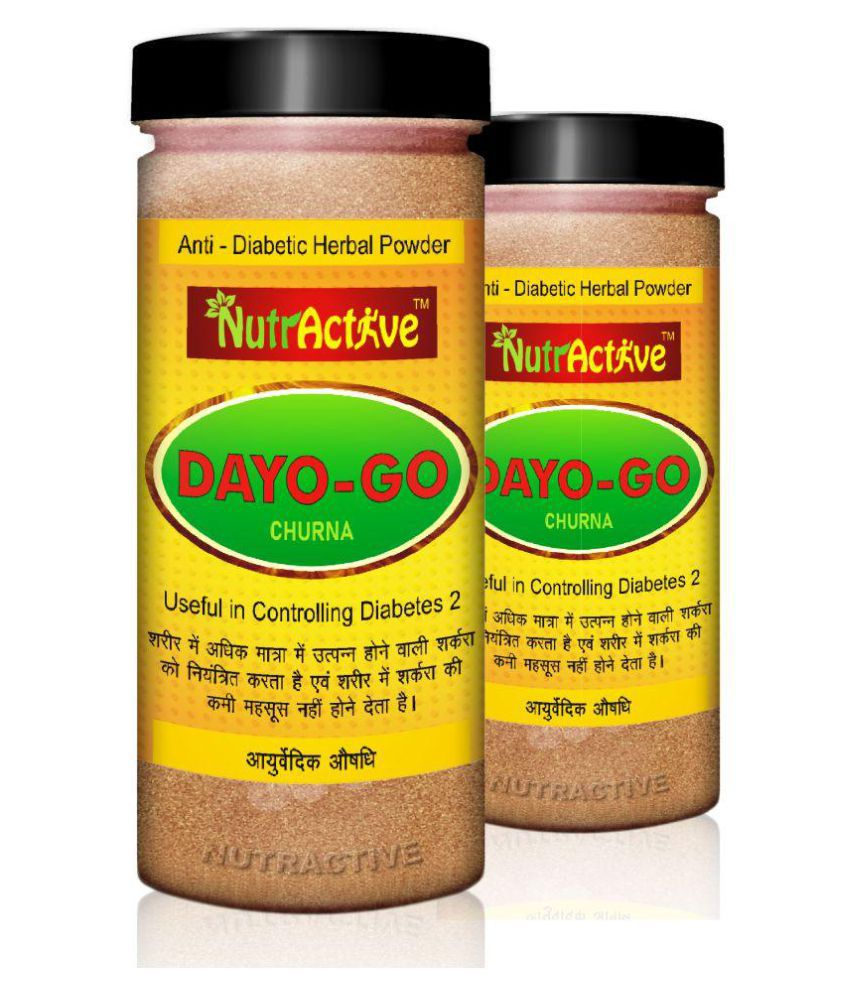 NutrActive Dayo-Go Churna for Diabetes and Detox Powder 300 gm