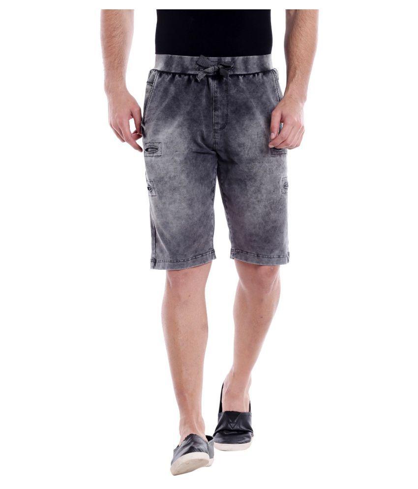 ROADIES by BEEVEE Black Shorts