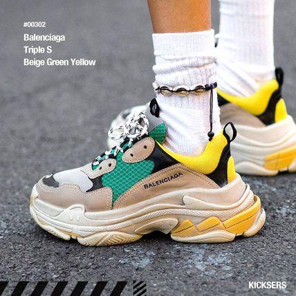 balenciaga yellow casual shoes  buy balenciaga yellow
