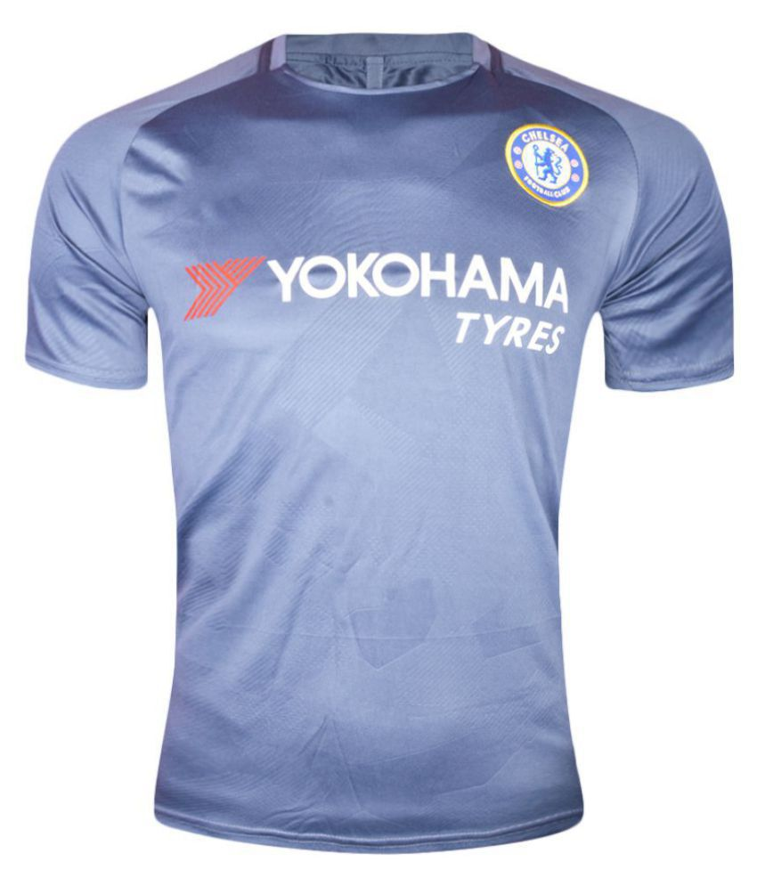 Chelsea Blue Polyester Jersey