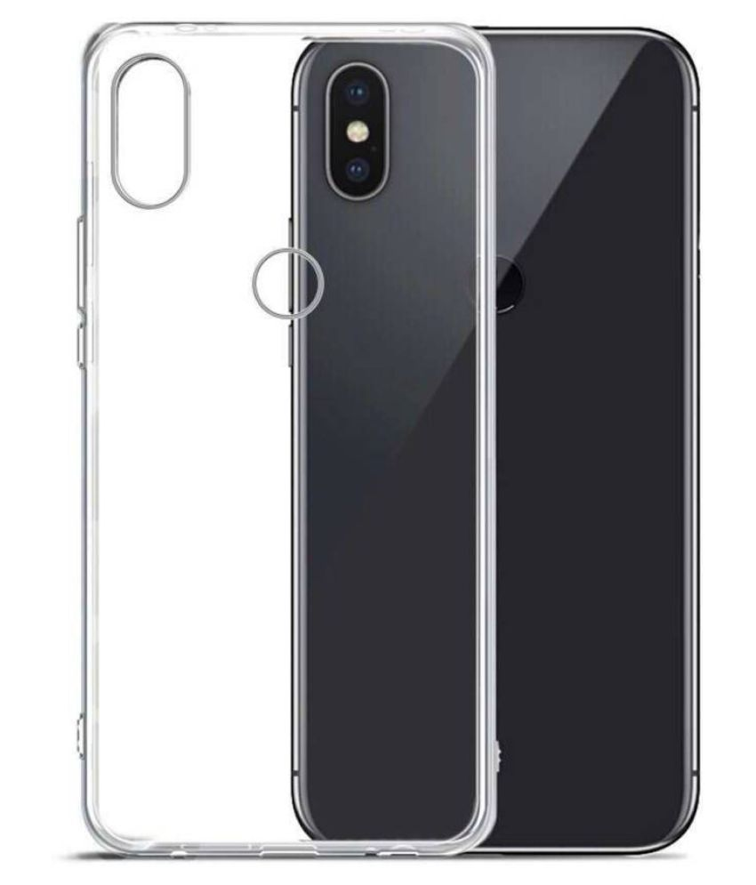 Xiaomi Mi A2 Plain Cases Hopsack - Transparent