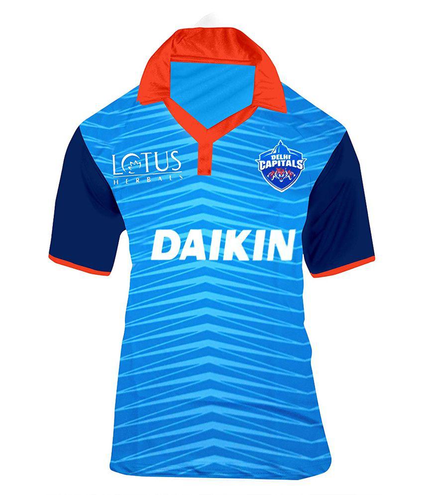 new product 9a54d 6522f Delhi Capitals IPL 2019 KIds Jersey