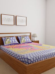 double bedsheets buy double bed sheets online at best prices in rh snapdeal com