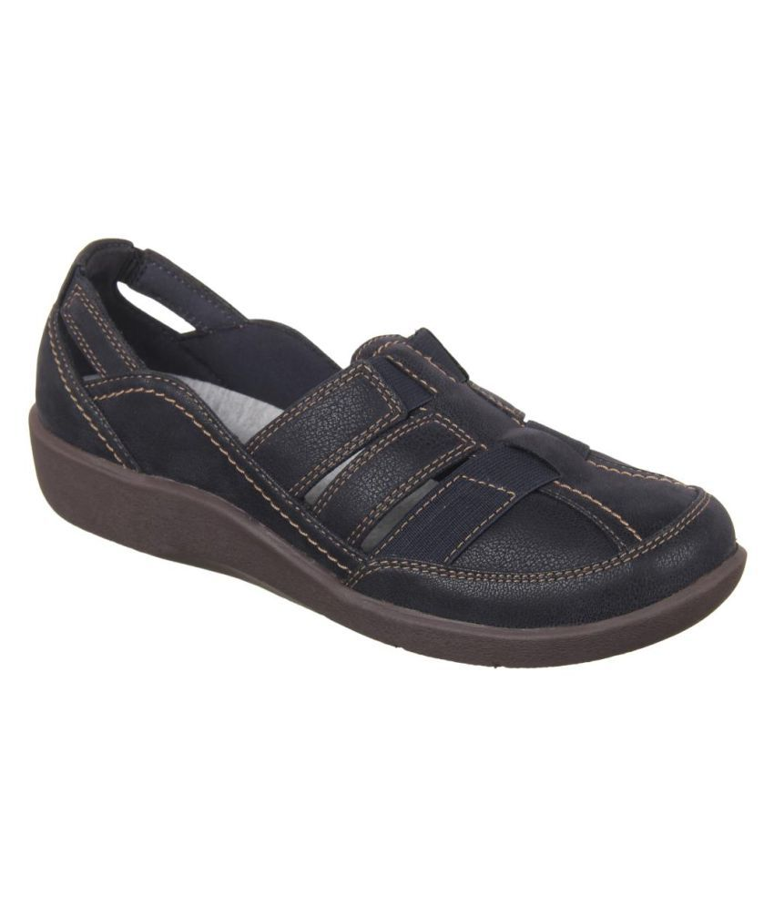 Clarks Blue Casual Shoes