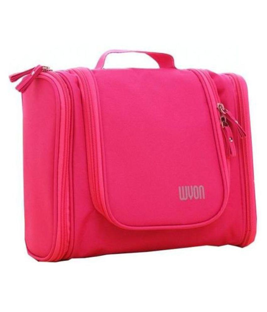 Kanha Pink Travel Toiletry Bag Waterproof Toiletry Kit