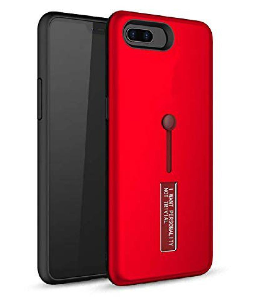 Honor 7A Shock Proof Case Hopsack - Multi