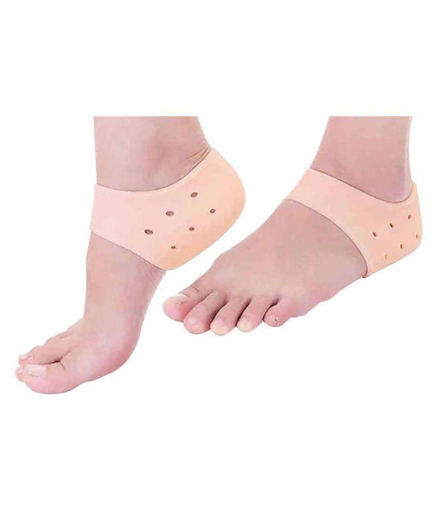 dream value Heel Pain Relief Socks Silicone Dry Hard Crack Heels 1 pair Pack Of 1