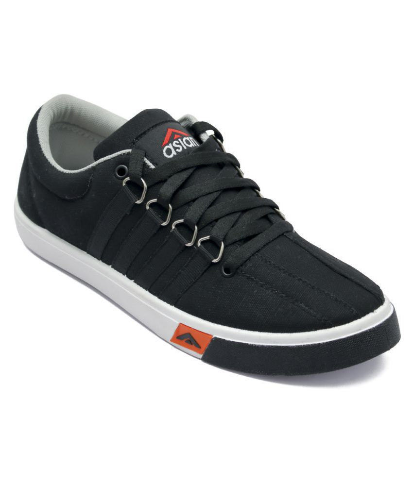 ASIAN Sneakers Black Casual Shoes - Buy