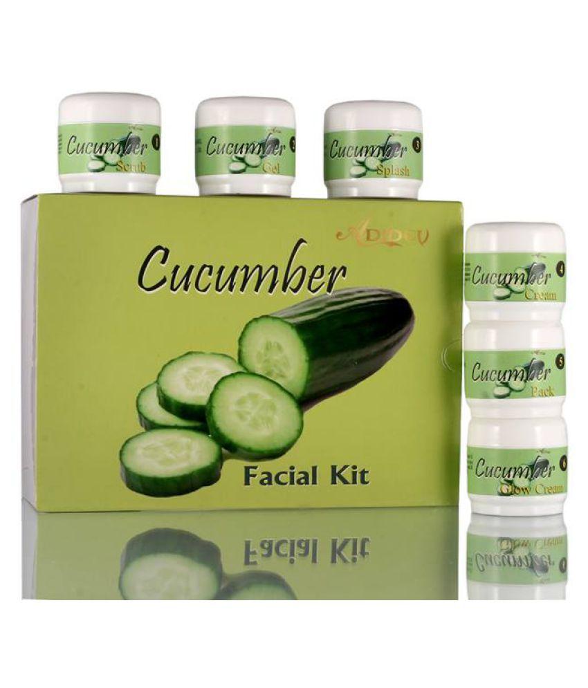Adidev Herbals Anti-Tan Cucumber Natural Glow Facial Kit 250 gm