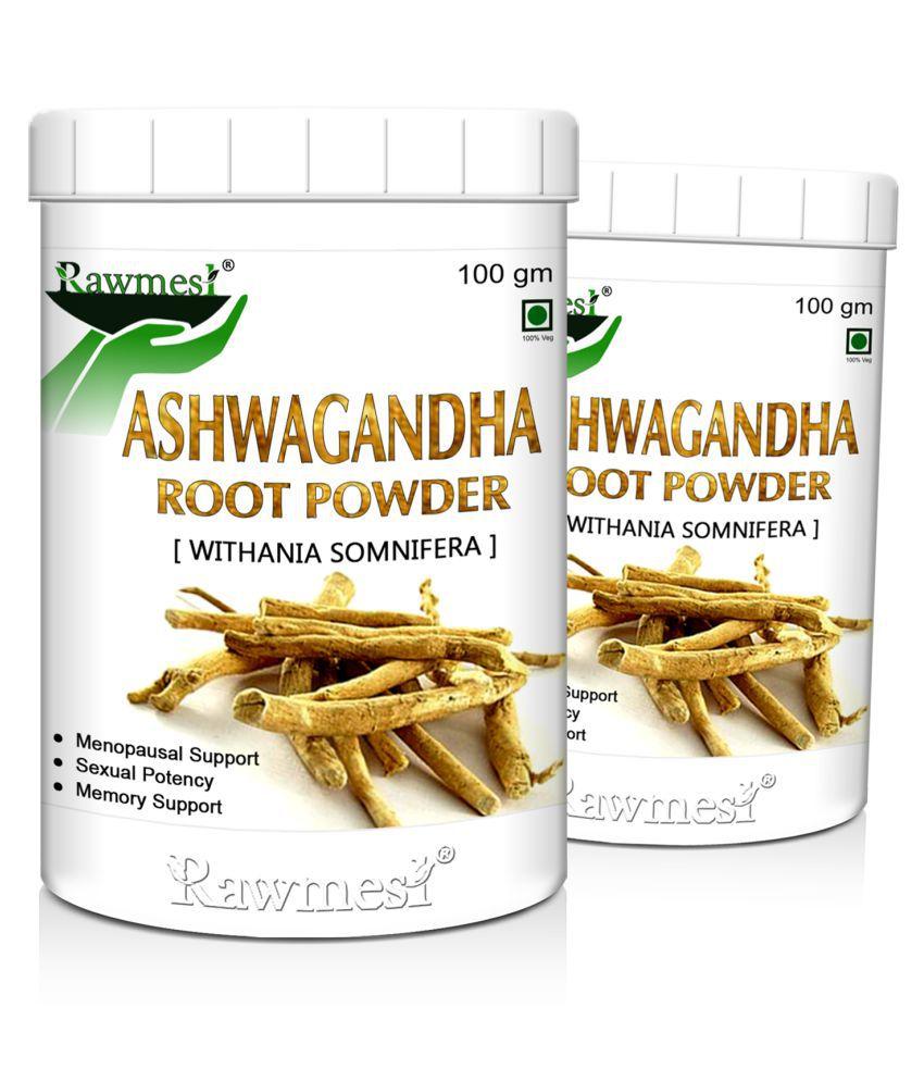 rawmest Organic Ashwagandha Powder 200 gm