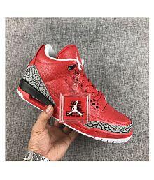 big sale 65251 deba8 Nike Air Jordan 3 Retro Running Shoes: Buy Nike Air Jordan 3 ...