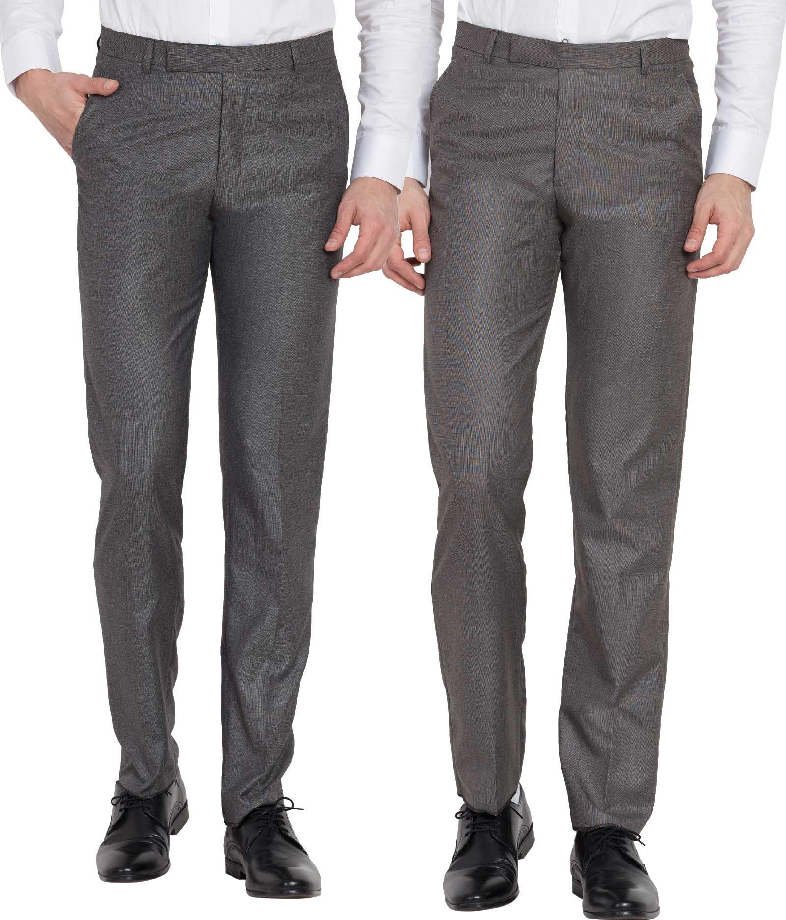 Haoser Multi Slim -Fit Flat Trousers