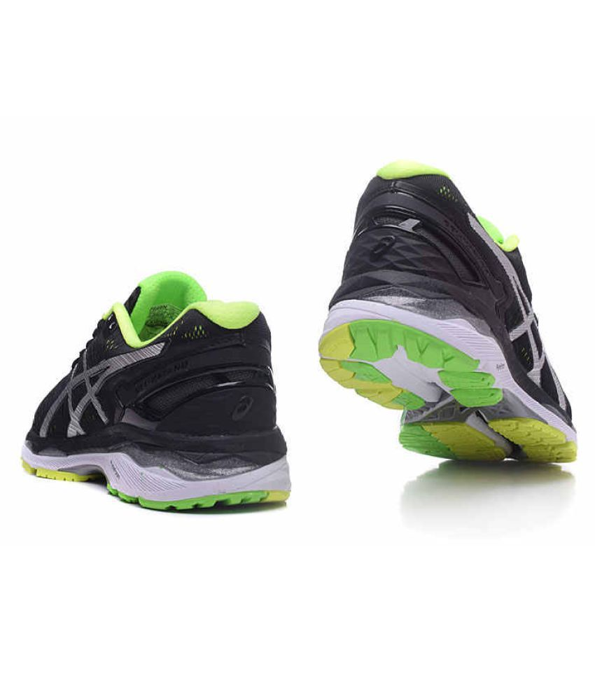 8c3c783a ASICS GEL-Kayano 23 Running Shoes For Men (Black) Black Casual Shoes