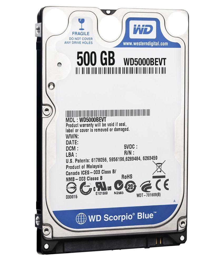 WD SEE IN PIC 500 GB Internal Hard Drive Internal Hard drive