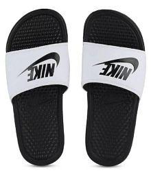 Nike White Thong Flip Flop