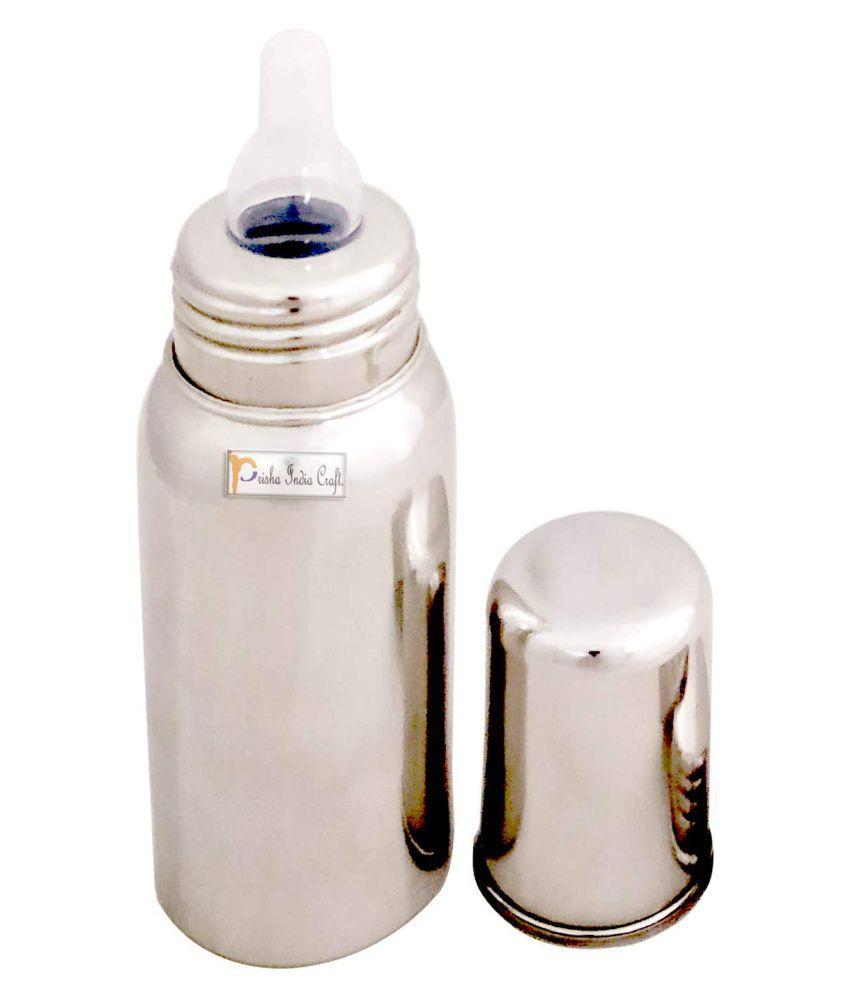 e64596297 Prisha India Craft 304 Grade Stainless Steel Baby Feeding Bottle ...