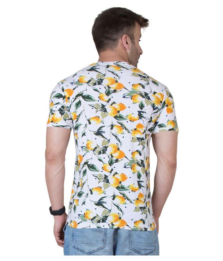 fd79e76c866 Veirdo White Half Sleeve T-Shirt - Buy Veirdo White Half Sleeve T ...