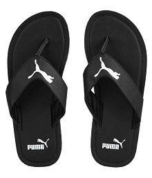 Puma Black Thong Flip Flop