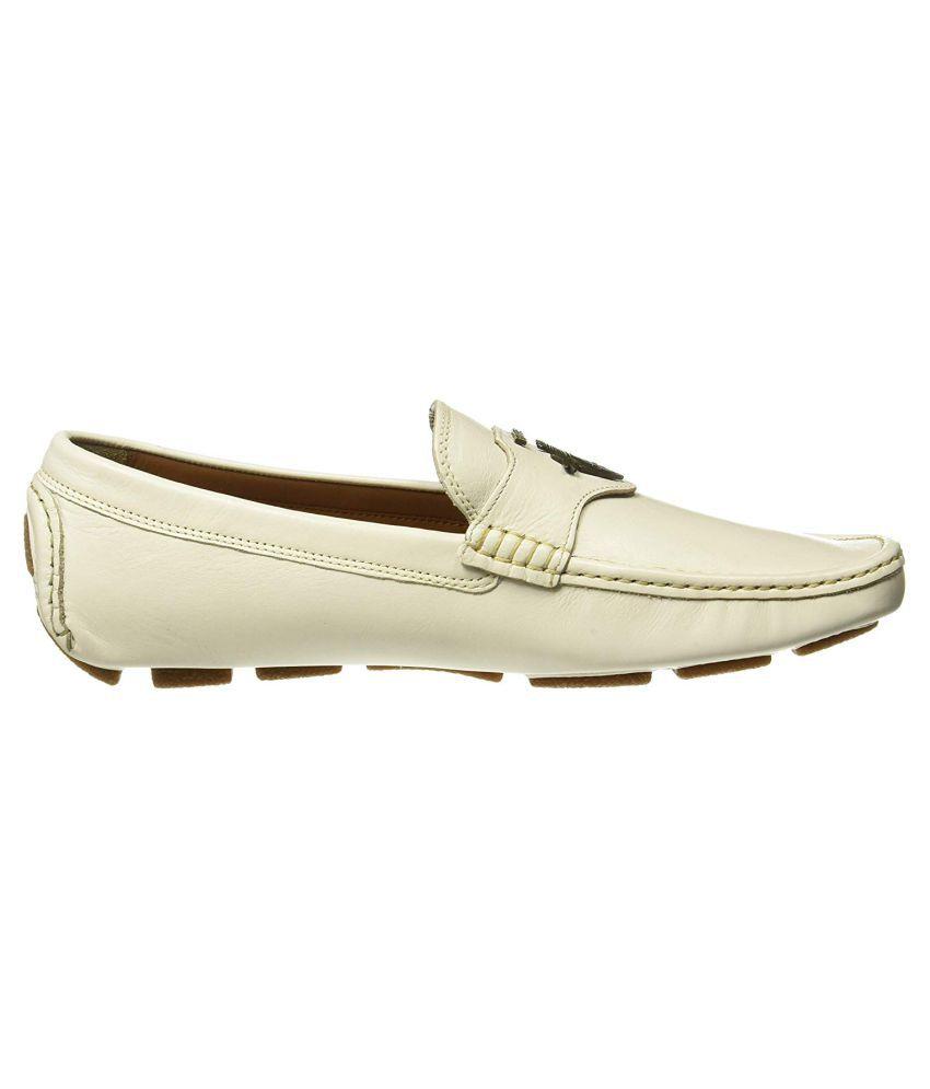 Ruosh White Loafers - Buy Ruosh White