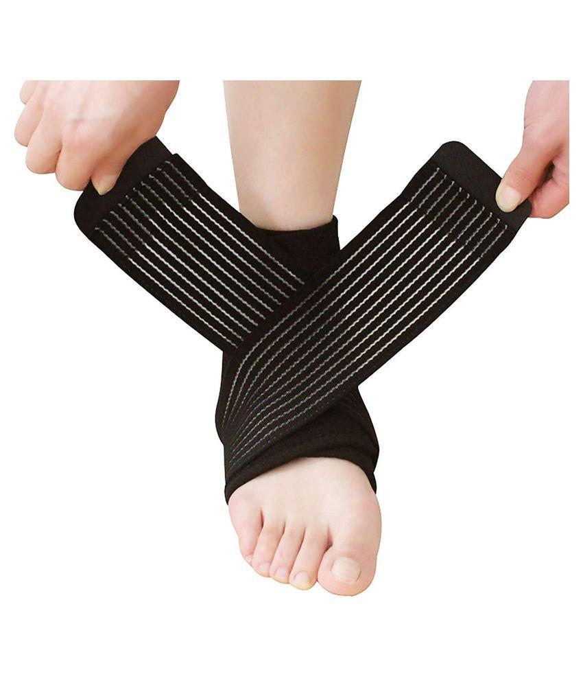 Adjustable Ankle Support Pad Brace Cap Socks