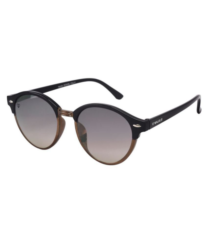 Walrus Black Round Sunglasses ( WS-JAMES-III-020502 )
