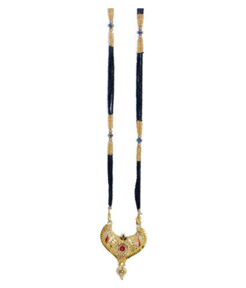 MNP DEALS alloy  Golden  Mangalsutra