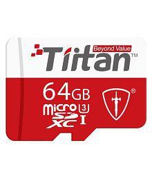 TIITAN 64 GB UHS Class 3 Memory Card