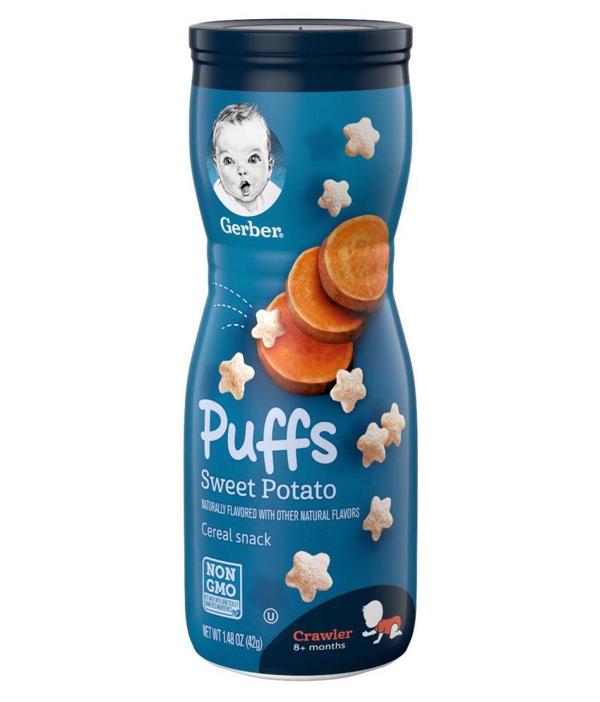 Gerber Sweet Potato Snack Foods for Under 6 Months ( 42 gm )