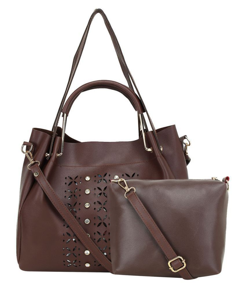 Mh Leather Product Brown Pure Leather Combo