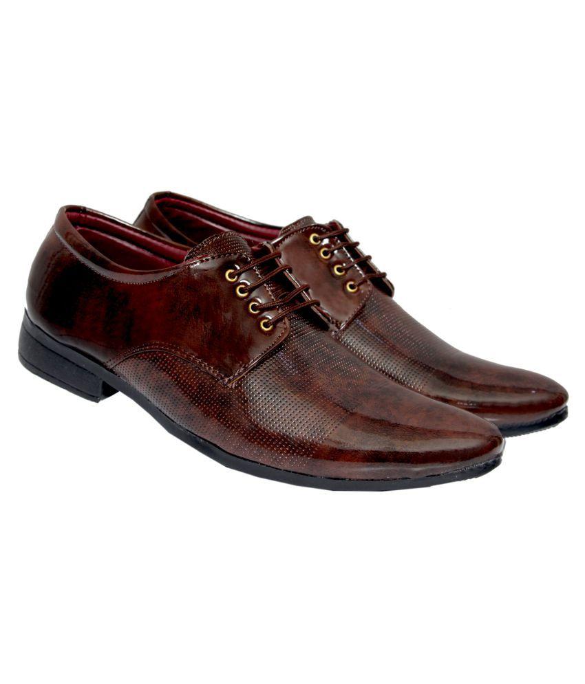 RADLETT Derby Non-Leather Black Formal Shoes