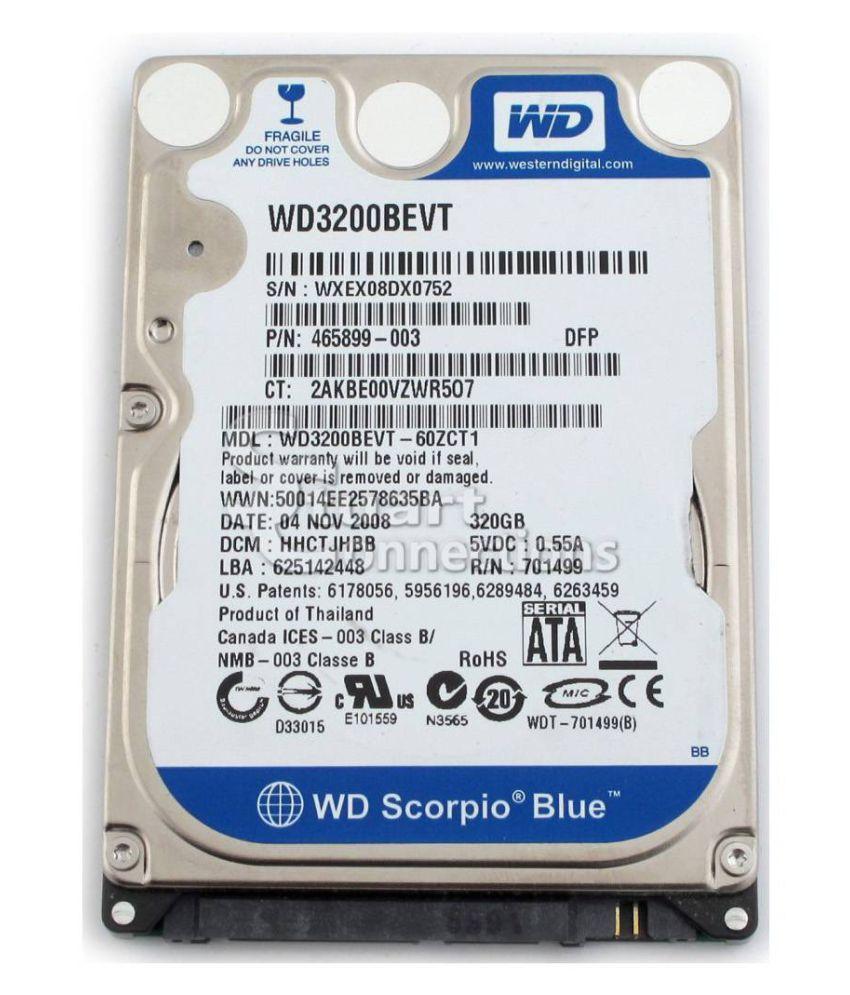 WD WD300BEVT OR VARIANT 320 GB Internal Hard Drive Internal Hard drive