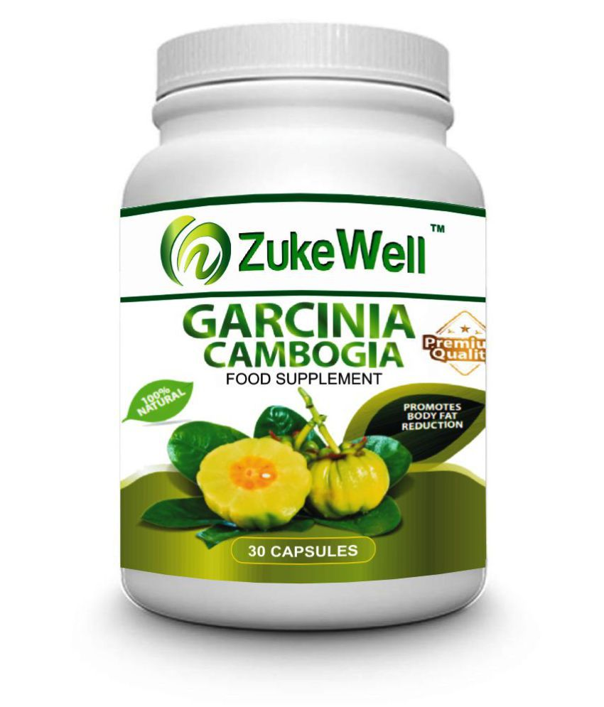 zukewell Garcinia Cambogia Extract Fat Burner Capsule 500 mg Unflavoured Single Pack