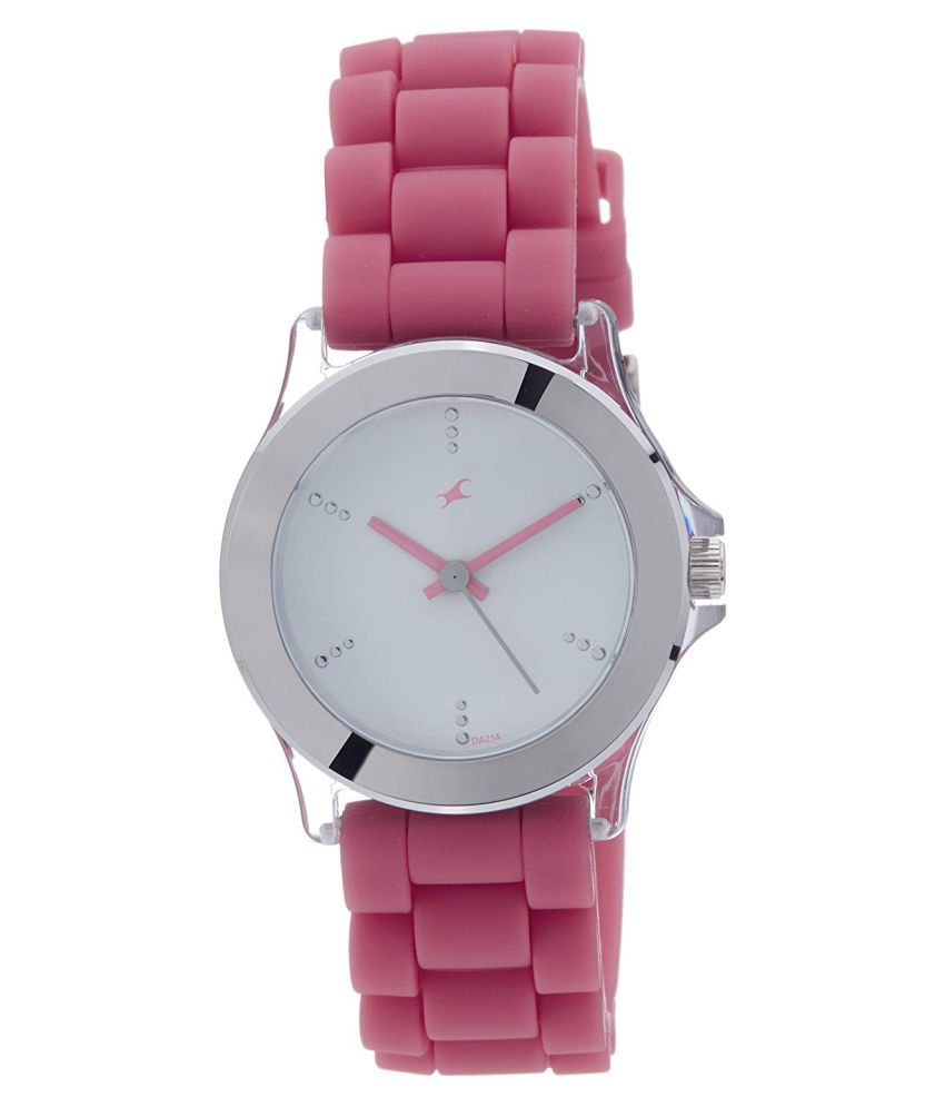 Speed Time Silicon Round Womens Watch