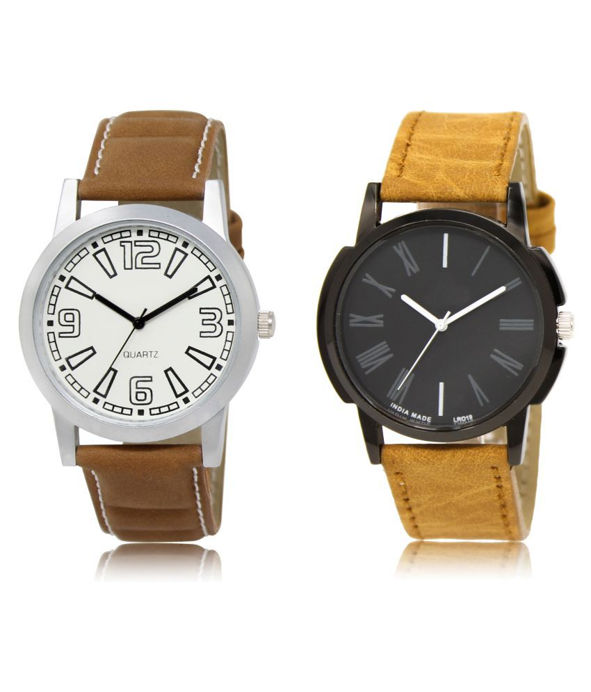 Lorem  Analog ML-15-19 Combo Watch For Men & Women