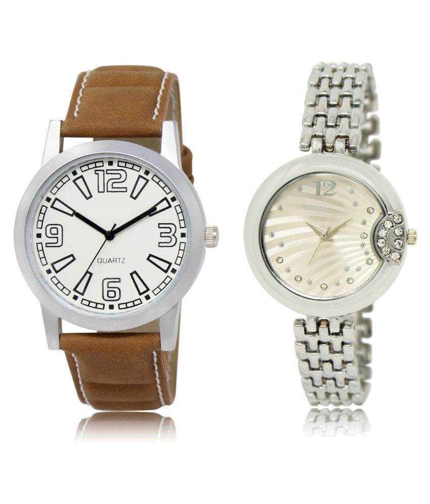Lorem Analog ML-15-227 Combo Watch For Men & women