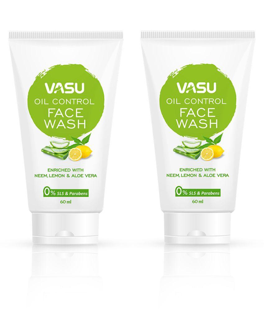 Vasu Face Wash 60 ml Pack of 2