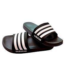100% True Adidas Eezay Striped Mens Flip Flop Sandals Yellow Choice Materials