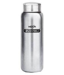 ea315f9ff Set of 1. Quick View. Milton Aqua 750 Silver 750 ml Steel Water Bottle ...