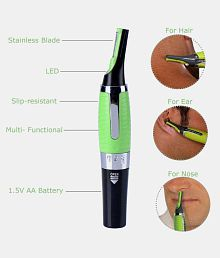 Horizon Enterprise Max touch Nose Trimmer ( Green )