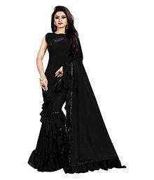 5057fc3d26f4 Plain Saree: Buy Plain Saree Online in India at low prices - Snapdeal