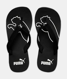 Puma Men's DP Colaba Official Black Daily Slippers