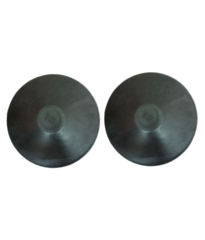 Arnav Rubber Black Discus One Size
