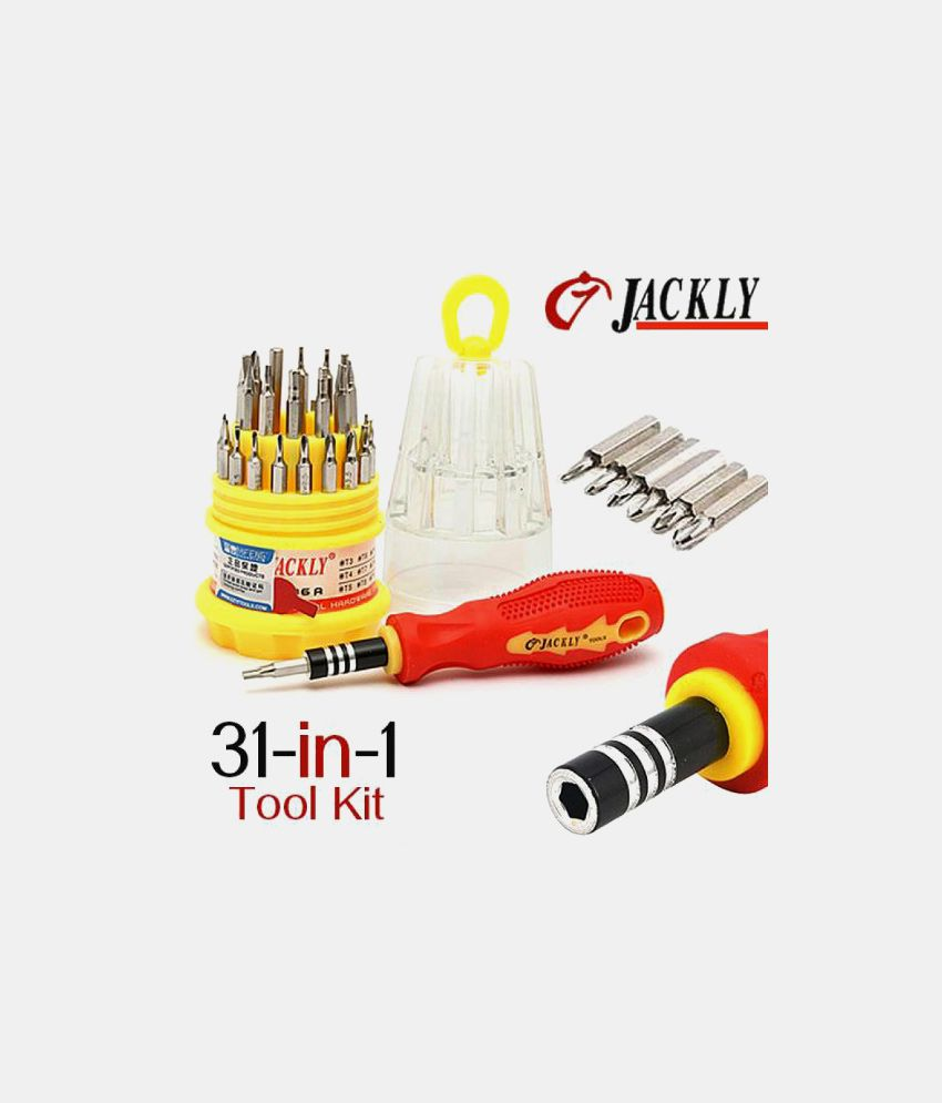 Jackly 31-In-1 Multi-Utility Screw Driver Magnetic Tool Kit Set