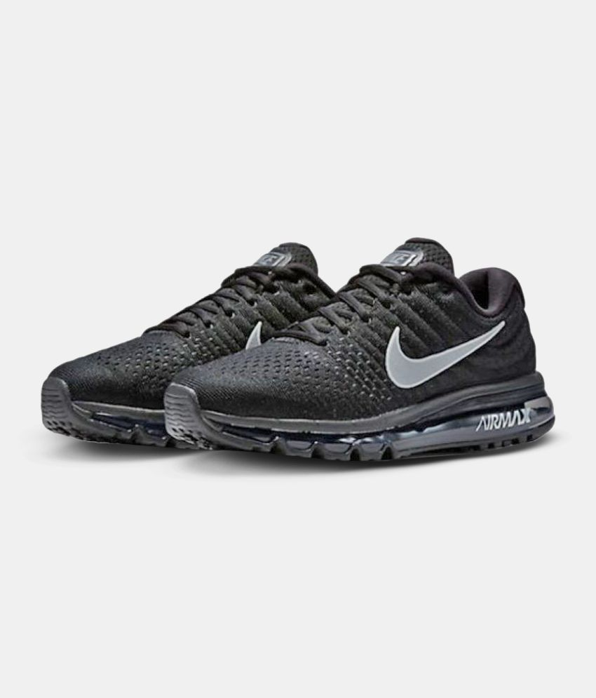 95ba3b7bda Nike AIR MAX 2017 Black Running Shoes - Buy Nike AIR MAX 2017 Black ...