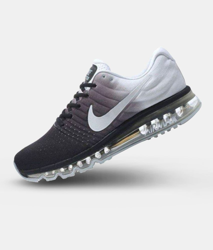 designer fashion d34ae 608f2 Nike Air Max 2017 White Running Shoes