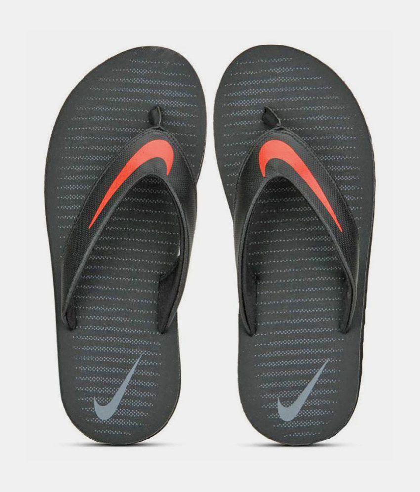 separation shoes 5bca1 4cb9e Nike Black Thong Flip Flop