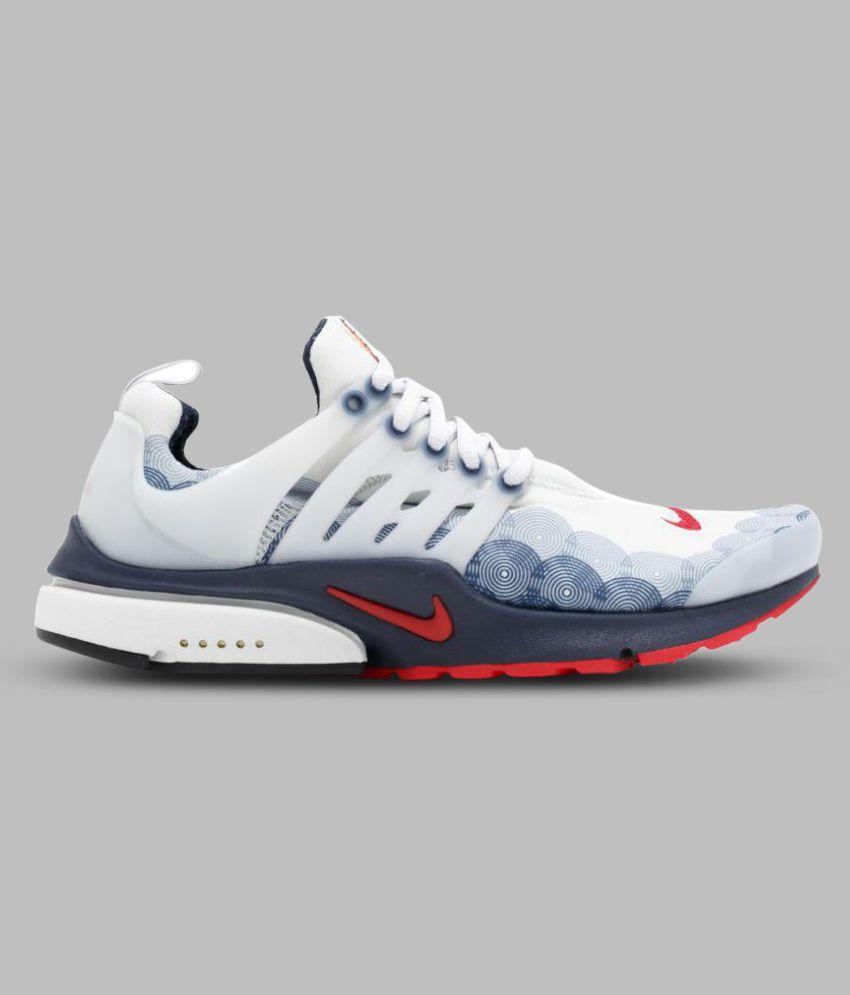pick up 484aa fbaa1 Nike Air Presto Olympic USA White Running Shoes ...